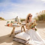 A Desert Wedding shoot at Camber Sands, Kent