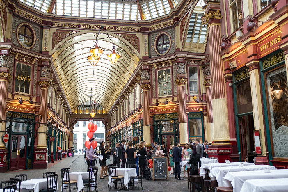 Wedding Leadenhall Market London
