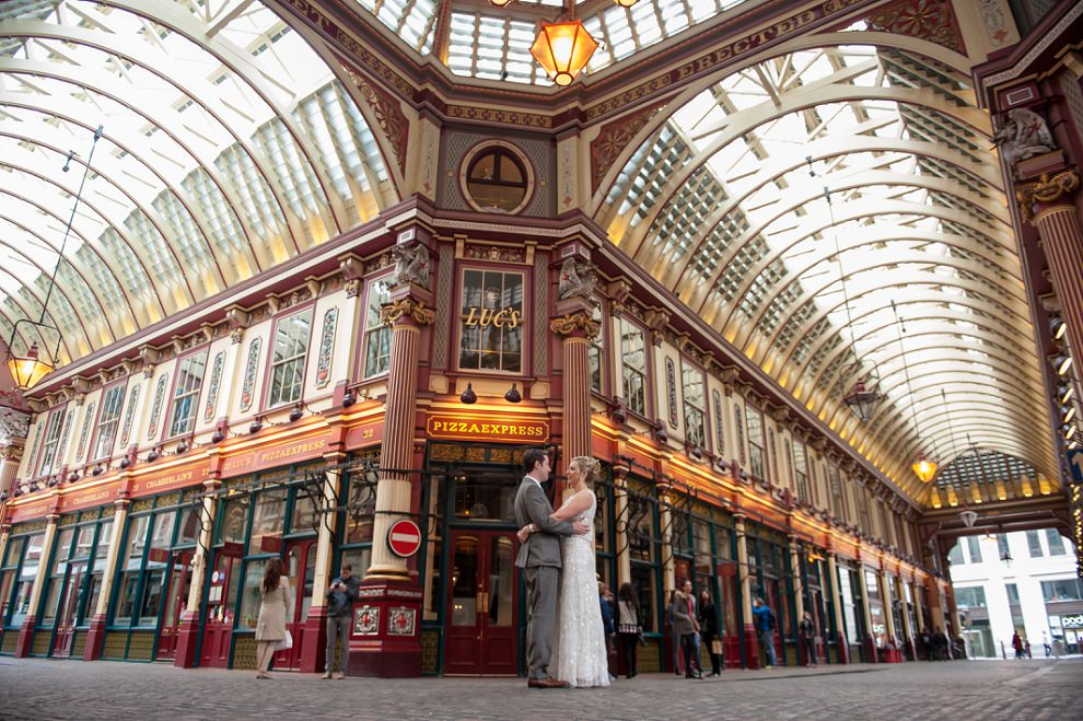 Leadenhall Market Wedding