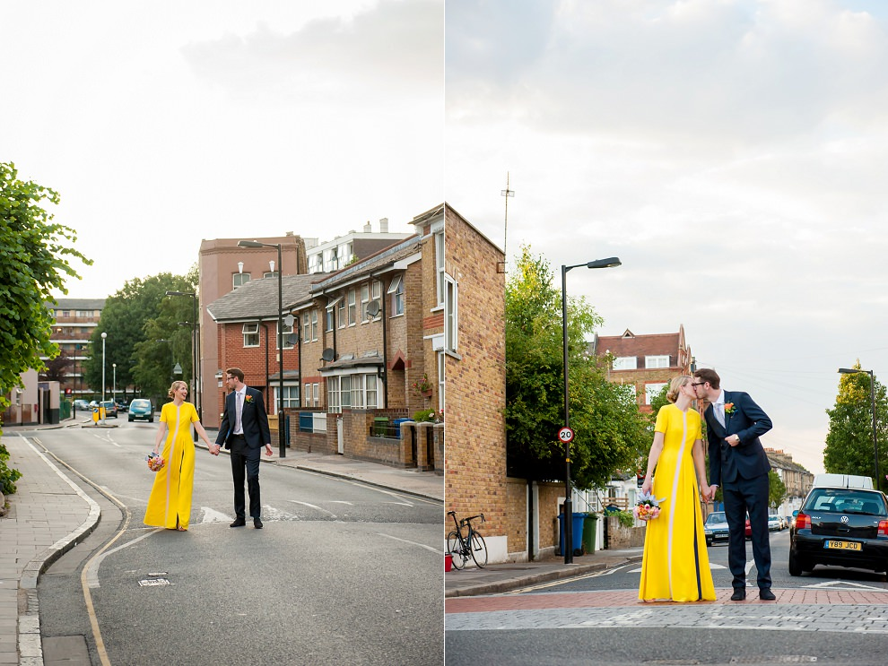 yellow wedding dress London