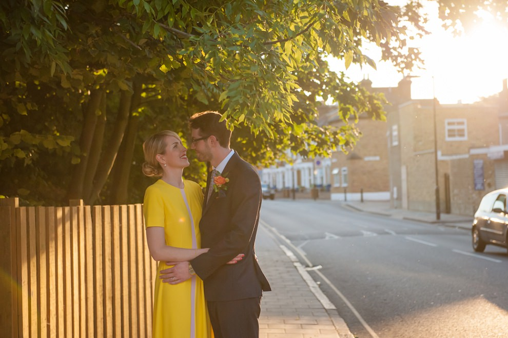 London Peckham Wedding