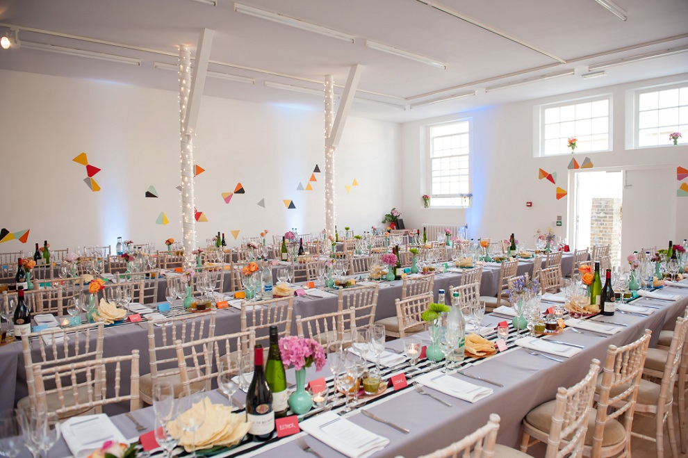 Wedding long tables