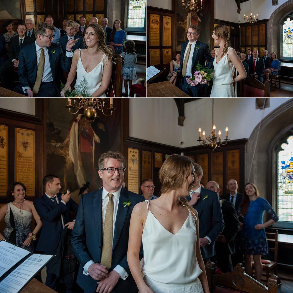 Fun wedding photography in London