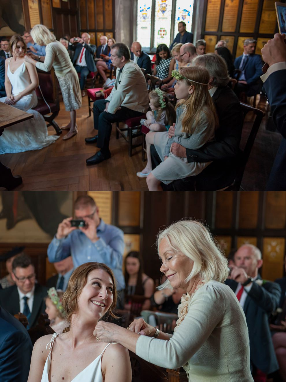 Documentary wedding photography - real moments