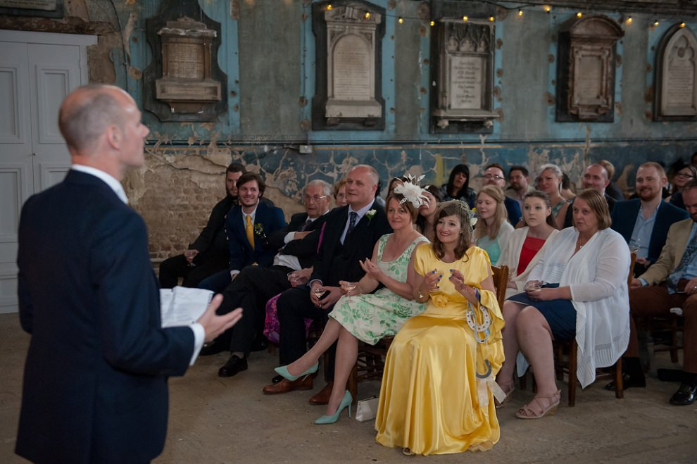 Wedding photography Asylum Peckham