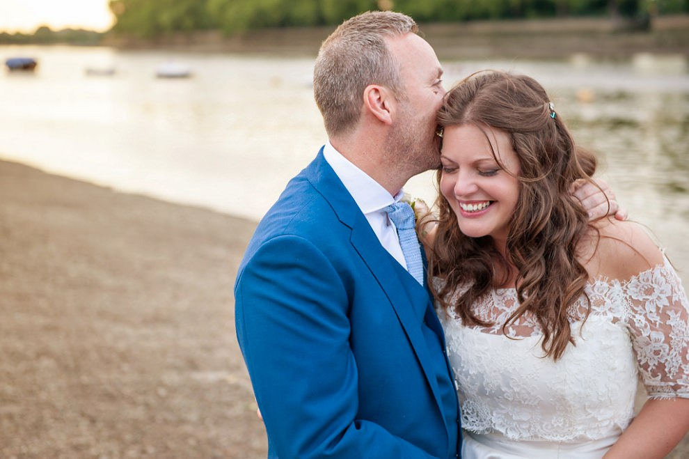 Putney embankment wedding photos