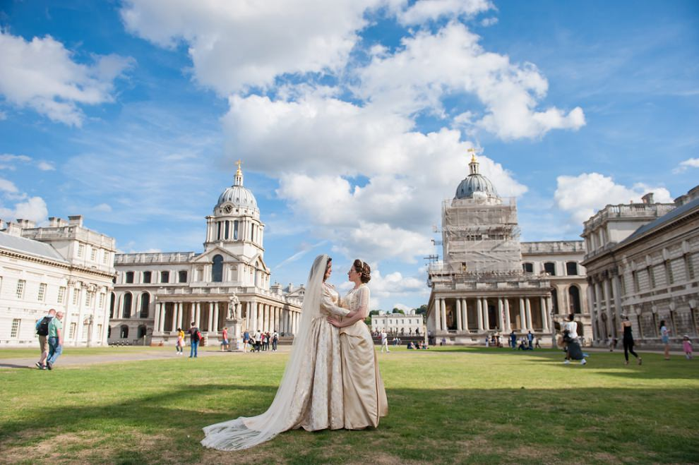 Greenwich wedding photos
