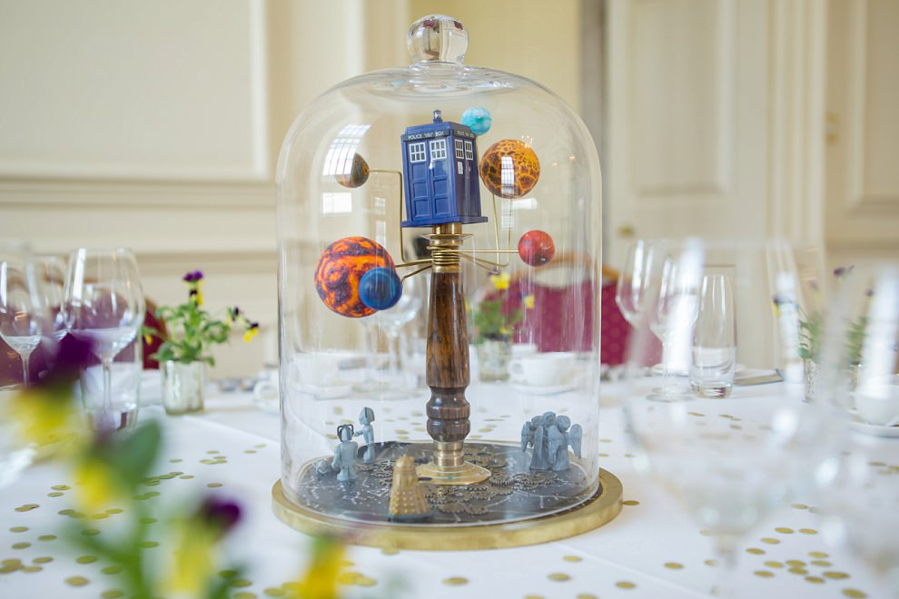 Doctor who wedding table