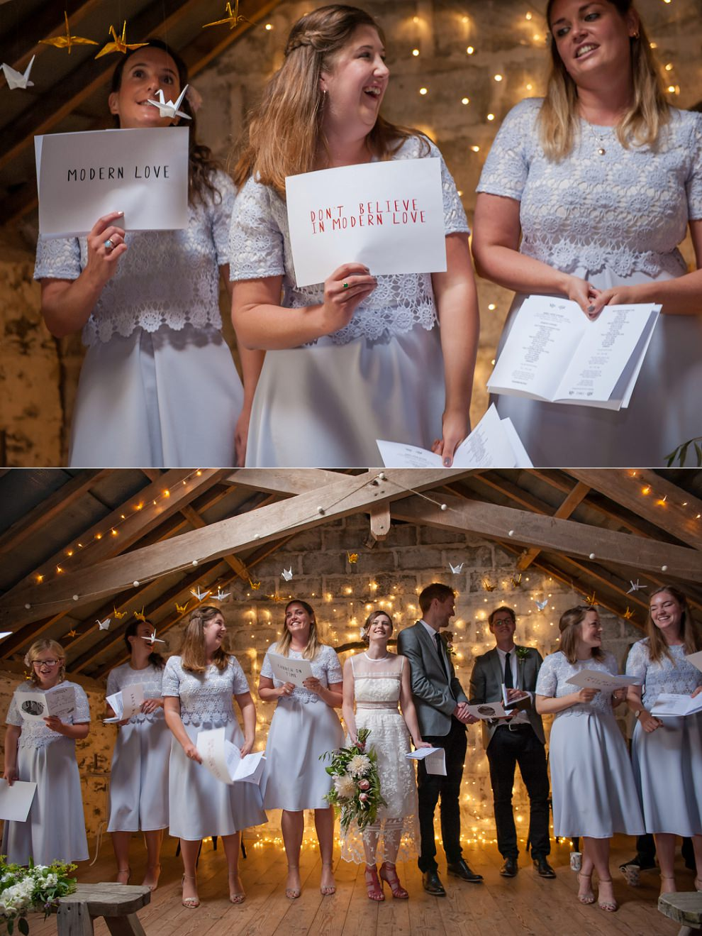Wedding singalong