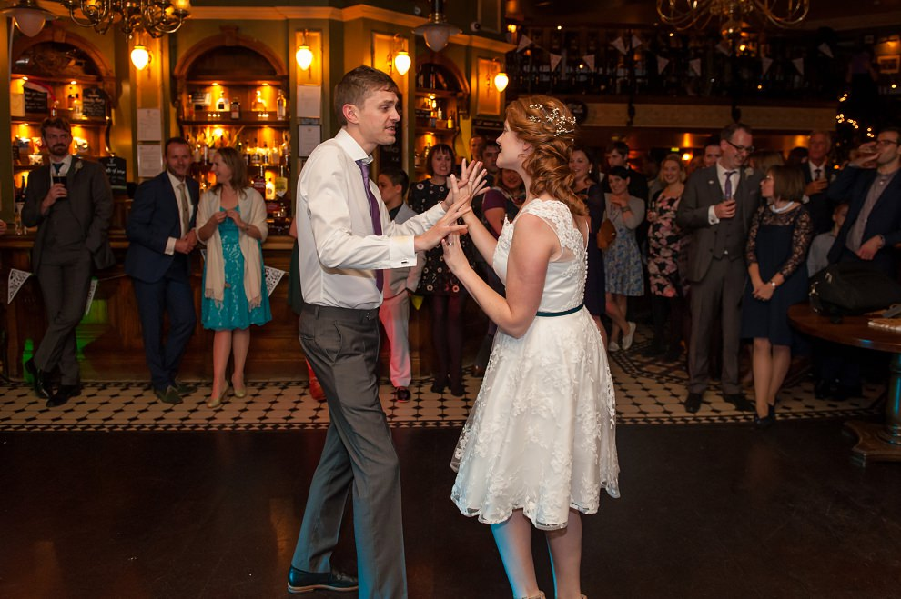 first dance wedding London pub