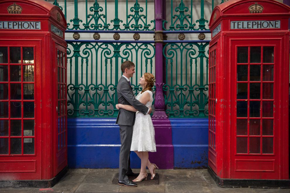 East London Pub wedding