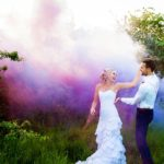 Kent Wedding Photography – Ché & Warren's smoke bomb filled, South African themed, post-wedding shoot