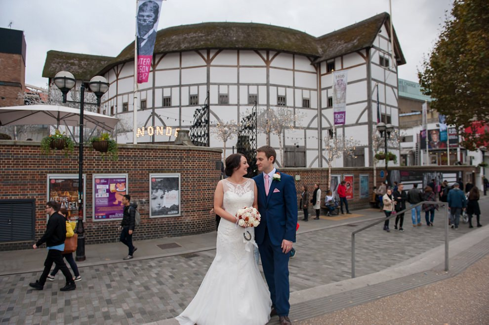 swan restaurant shakespeares globe wedding