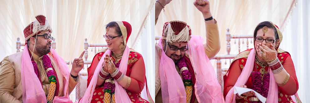 Natural fun wedding photographer Hindu Wedding