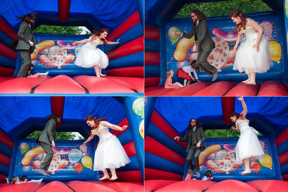 The most fun wedding photos ever