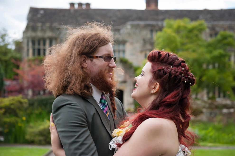 bride game of thrones hair wedding