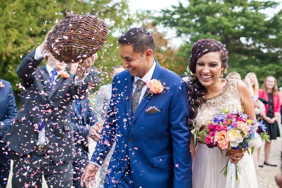 Northbrook Park wedding confetti