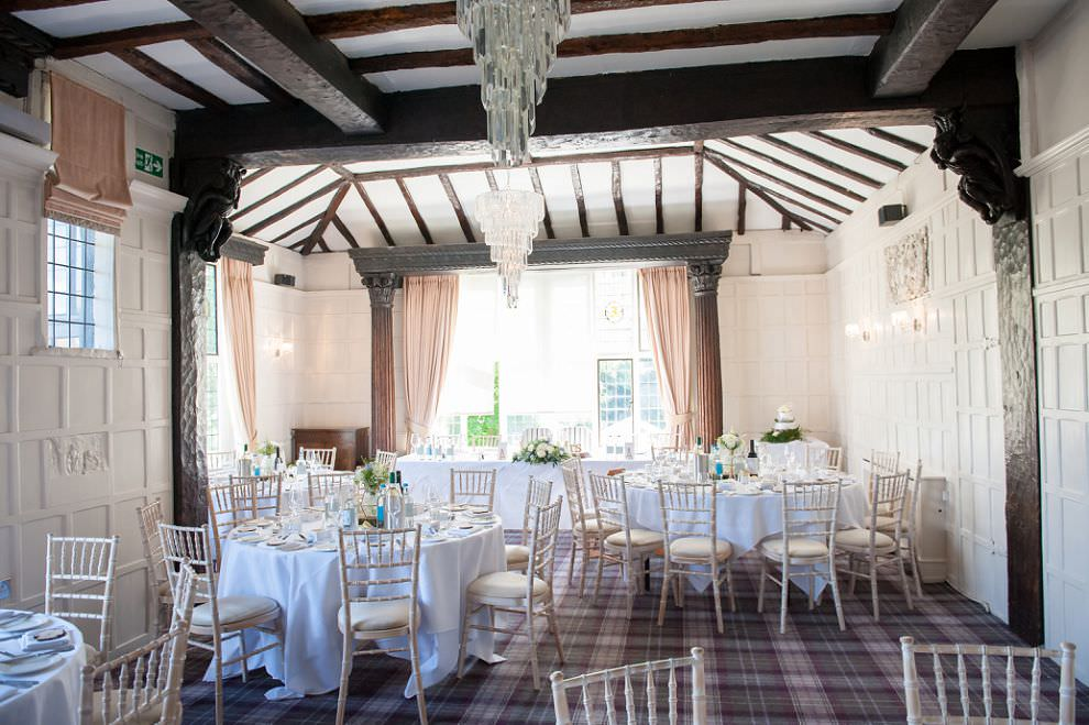 Reception wedding at Laura ashley Boutique hotel wedding