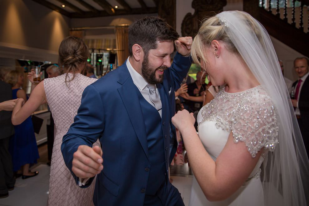 First dance at Laura Ashley Hotel