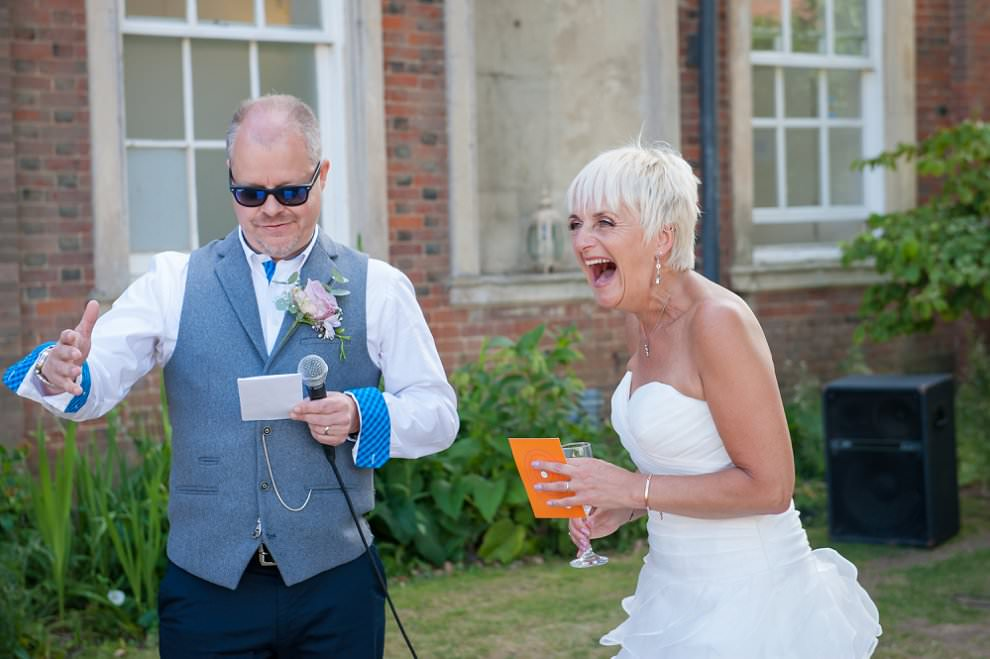 wedding speeches at chicheley hall