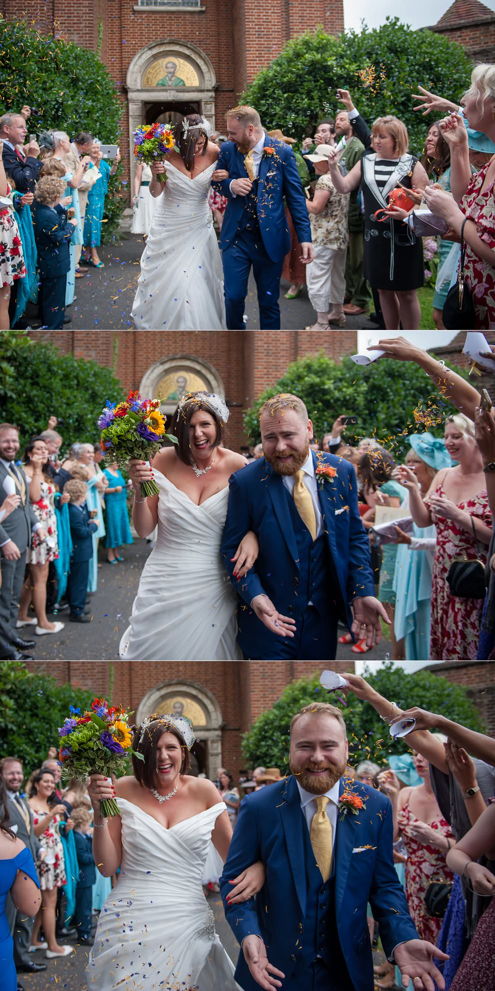 Confetti Sussex wedding photographer