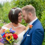 West Sussex Wedding Photographer – Colourful Backyard Wedding {Philippa & Glen}