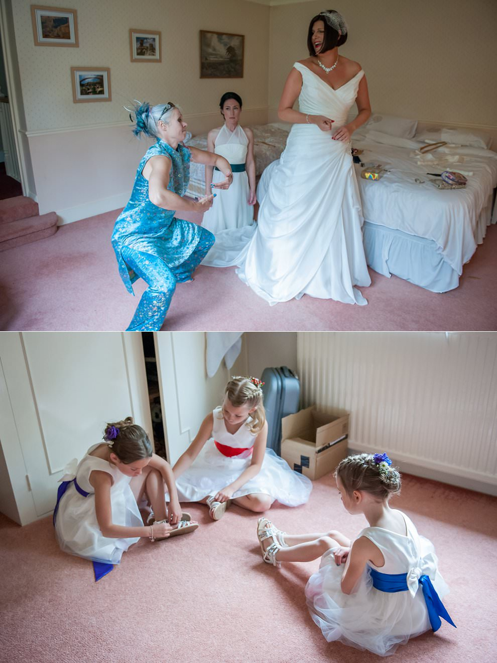 west sussex wedding Photographer | Bride getting ready
