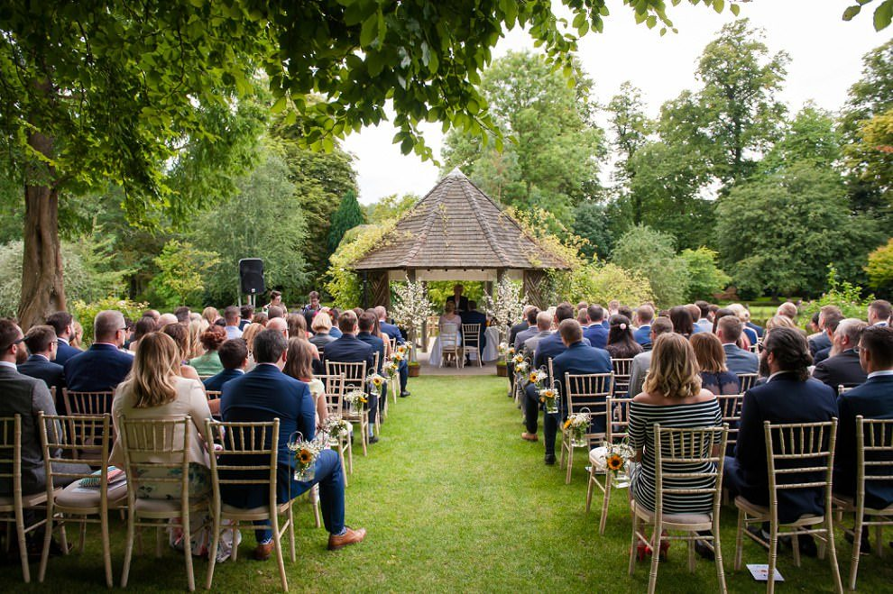 Chippenham Park outdoor ceremony