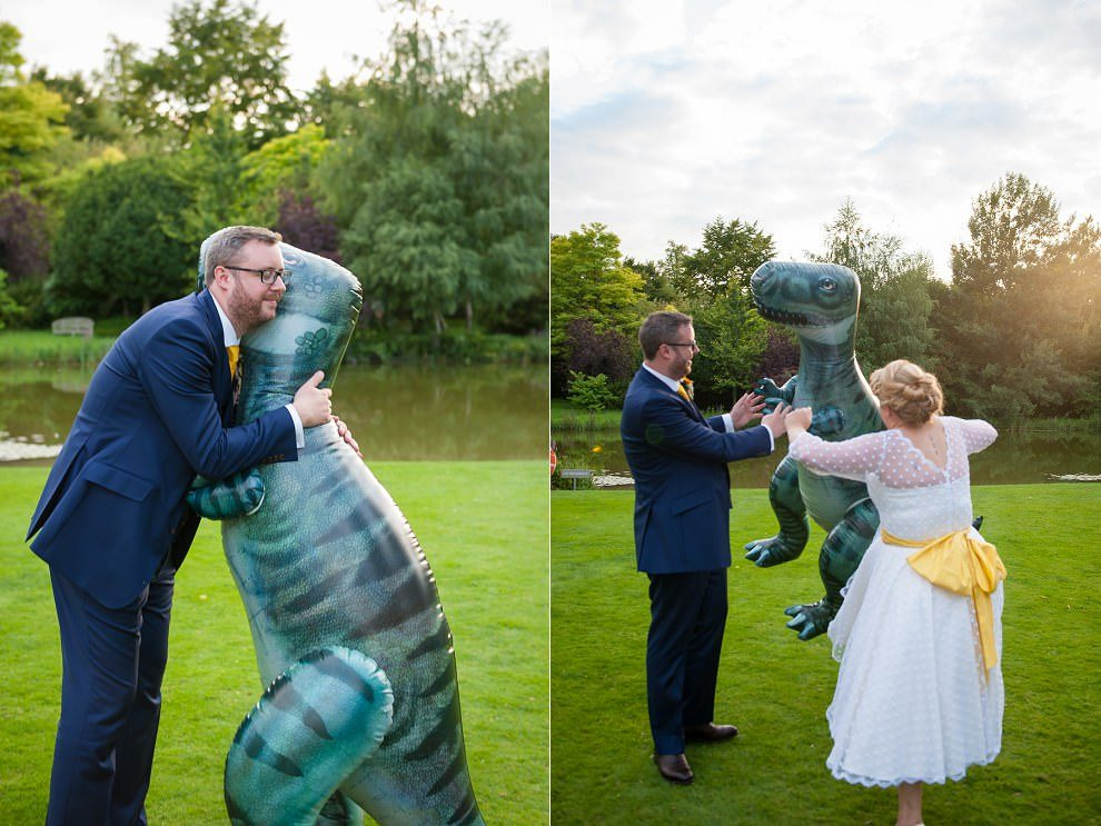 Fun London wedding photographers