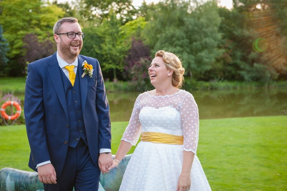 Alternative wedding photographer Chippenham Park