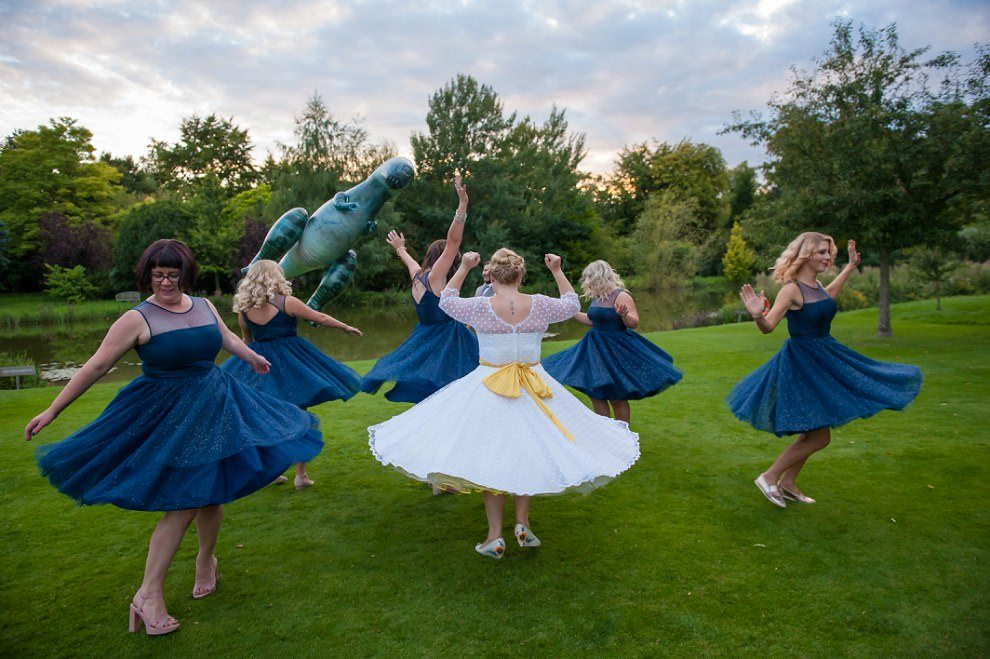 fun wedding photographer London