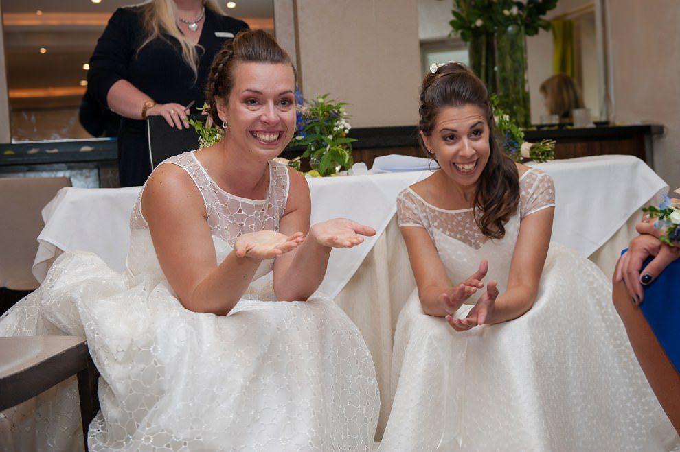 Same-sex bingham hotel wedding | London wedding photographer