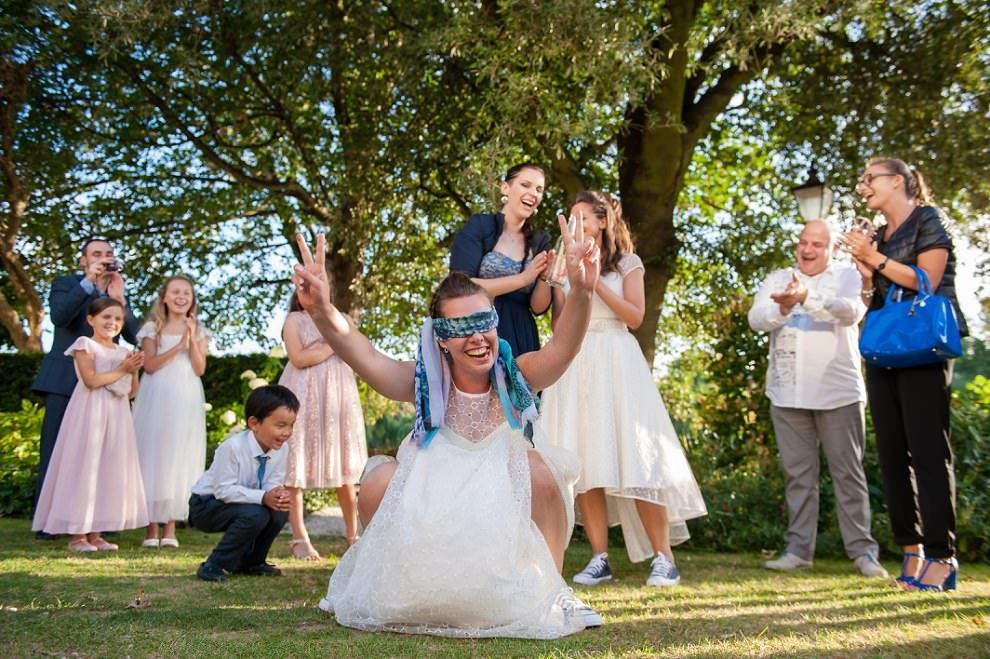 garden games richmond wedding Bingham hotel | LGBQT wedding photographer