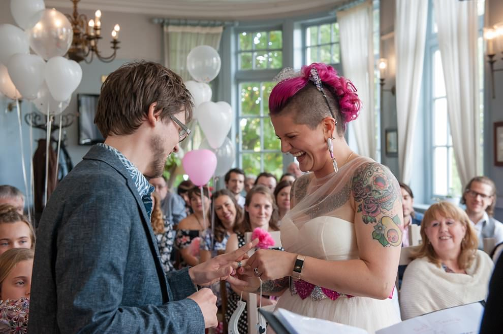 wedding tattoos | London alternative wedding photography