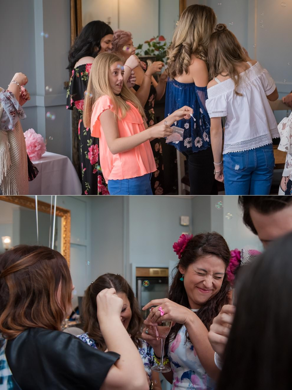 Fun wedding photography London