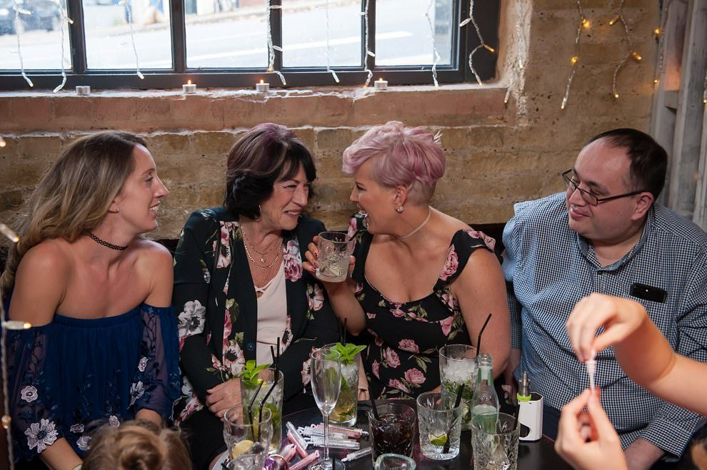 Fun quirky wedding photographer London