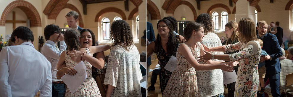 Wedding Photographers London | wedding guests