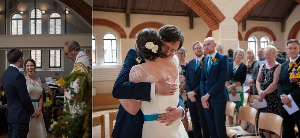 Wedding Ceremony London | Fun wedding photography