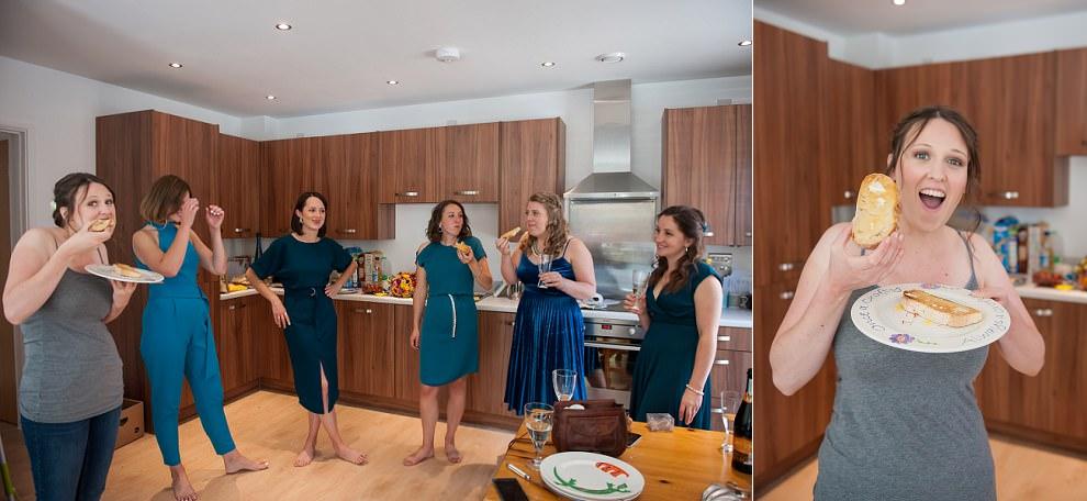 London wedding photographers | Fun getting ready wedding photos
