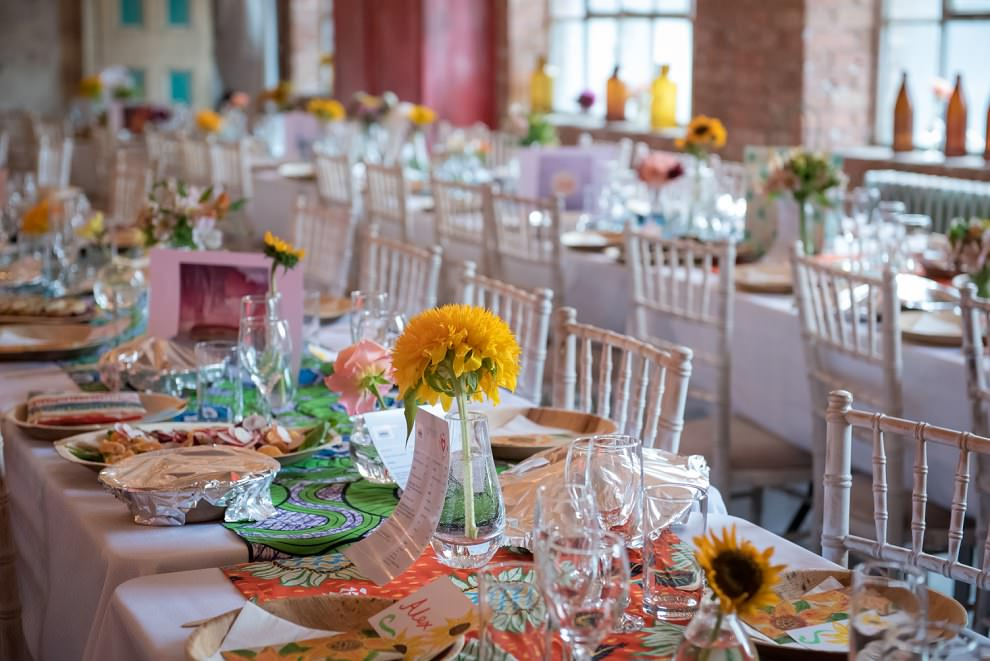Wedding decor at One Friendly Place