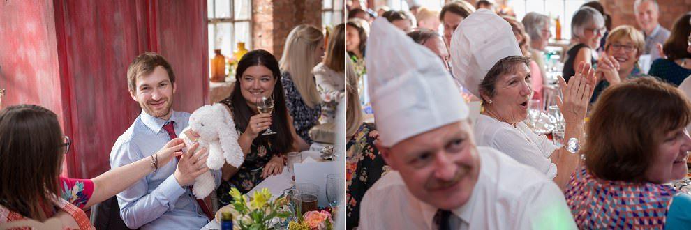 Quirky wedding photographers London