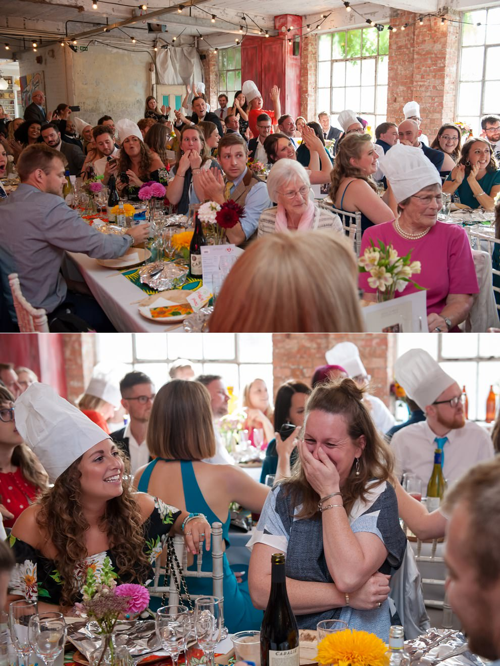 Candid guest photography at One Friendly Place wedding
