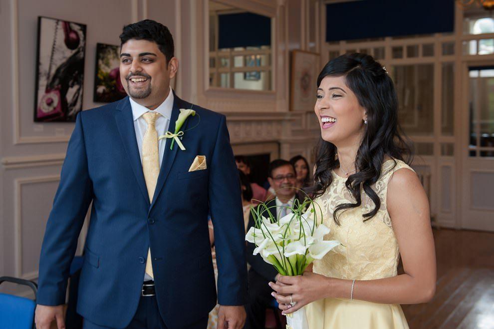 North London wedding photographer | Intimate Stephens House Wedding