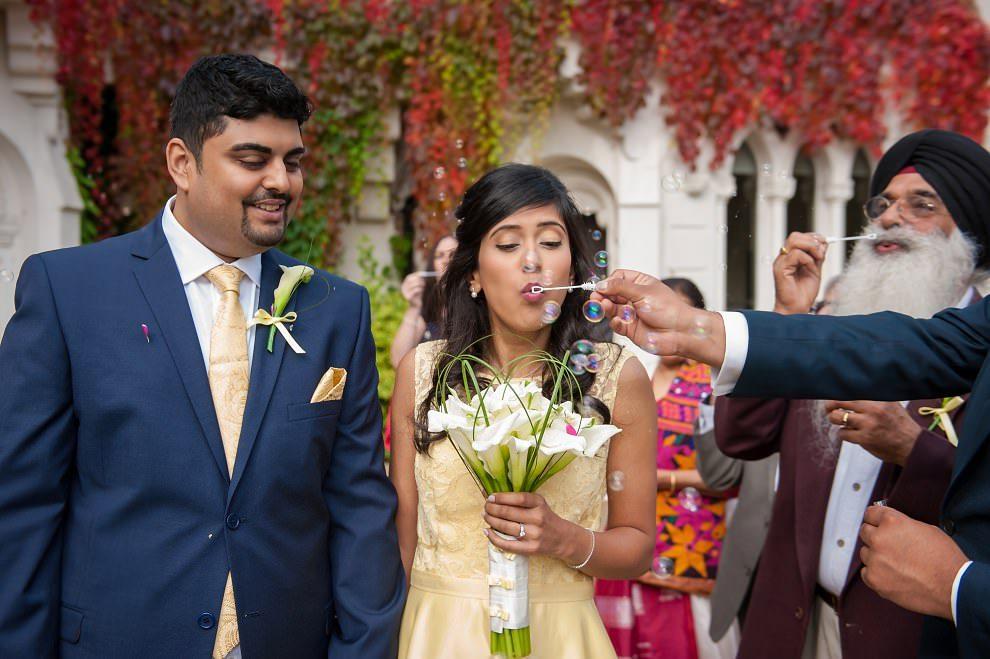 Documentary photography wedding North London