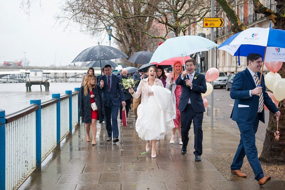 Putney wedding at London Rowing Club