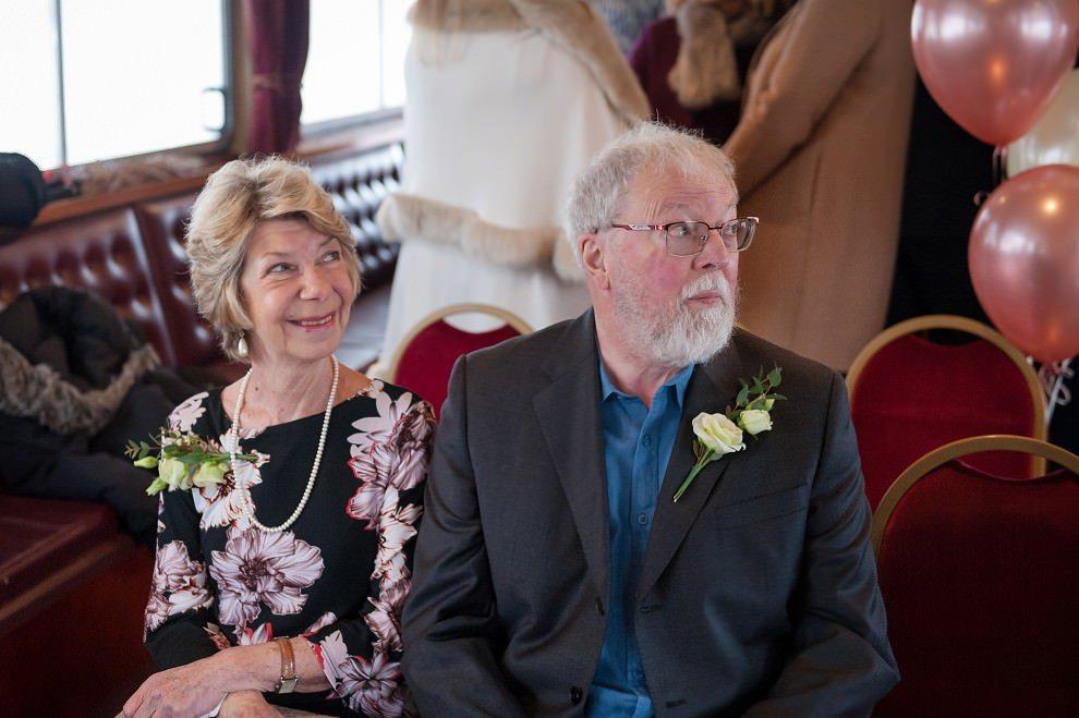 Putney wedding on a boat